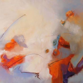 AIRE PRIMAVERAL ,oleo sobre lienzo,90x130 cm, 37 x 51 in