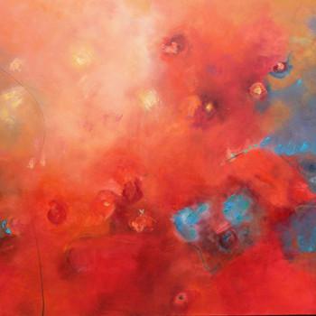 APASIONADO  (NY) 120 x 150 cm, 47.2 x 59.1 in,  Oleo sobre Lienzo  SOLD