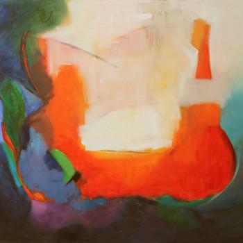 ARCO IRIS Oil on canvas 120 x 150 cm,47 x 59 in w