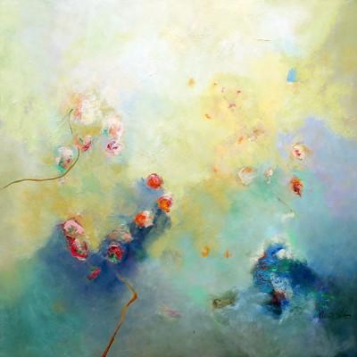 SKY ll, (NY) ,100 x 100 cm, 39.4 x 39.4 in, oleo sobre lienzo   SOLD