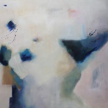 ESTRUCTURAS ll,Oleo sobre lienzo, 100x 80 cm, 39 x 32 in