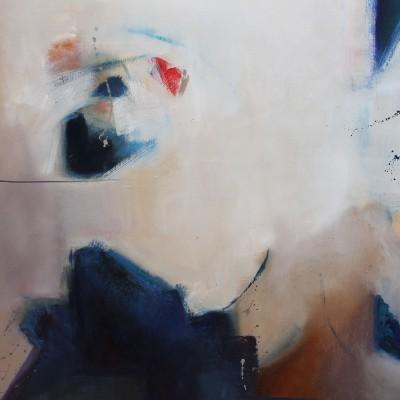 ESTRUCTURAS l , Oleo sobre lienzo 90 x 130 cm ,36x51 In