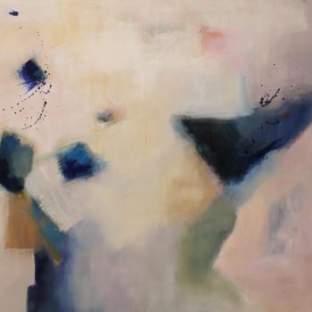 ESTRUCTURAS ll, oleo sobre lienzo ,100 x 80 cm 39x32 inches