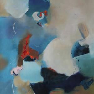 Espacio Ludico  (NY) ,Oleo sobre lienzo, 39 x 47 in., 100 x 120 cm
