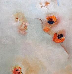 PENSAMIENTOS, 100x 40 cm, 39.4 x  15.7 in.,Oleo sobre lienzo