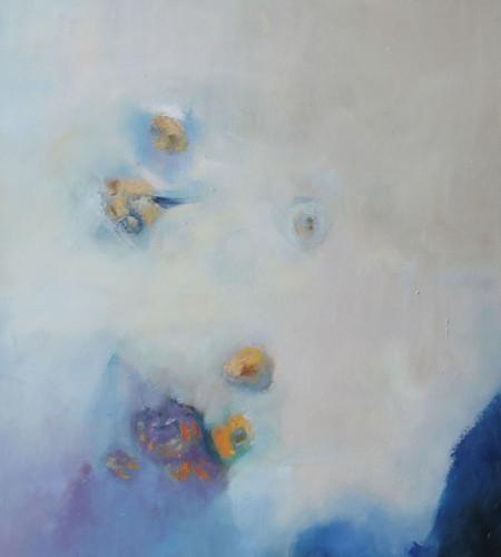 QUIETUD l ,Oleo sobre lienzo,100 x 80 cm,39 x32 in