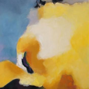 SUNRISE l ,Oleo sobre lienzo,,100x80 cm, 39x 32 inc