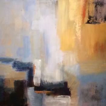 SUNSHINE Oleo sobre lienzo, 60 x 80 cm, 24 x 32 in