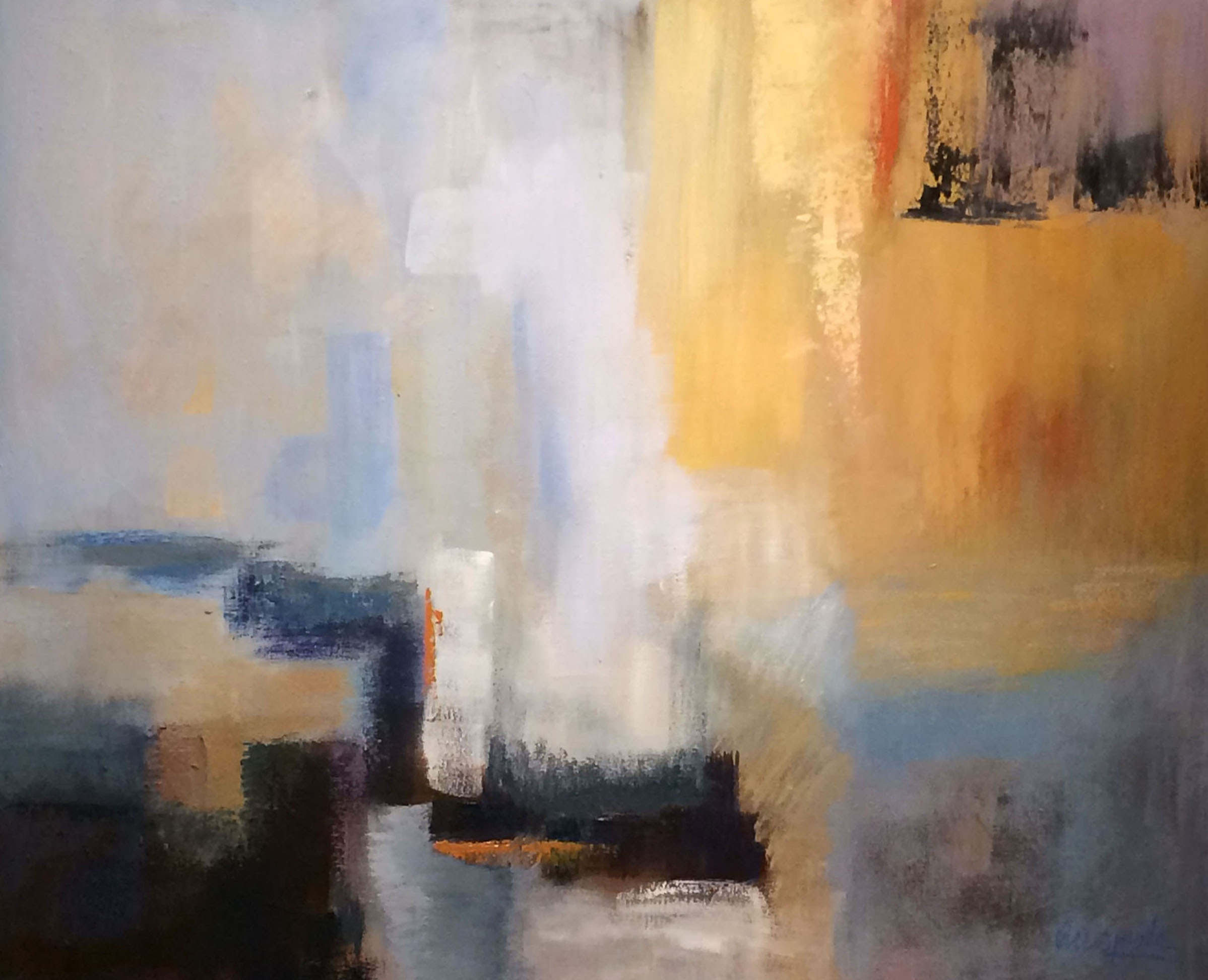 SUNSHINE Oleo sobre lienzo, 85 x 70 cm, 33 x 27 in