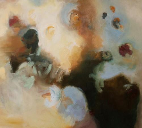 EARTH,Oleo sobre lienzo, 150 x 120 cm,59 x47 In