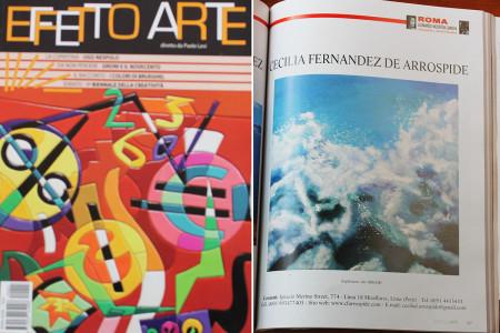 Publicacion en  Effetto Arte Magazine 2014