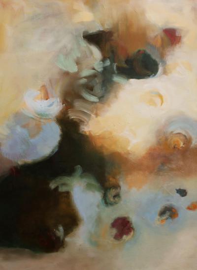 TIERRA I,Oleo sobre lienzo 150 x 120 cm,59x47 in
