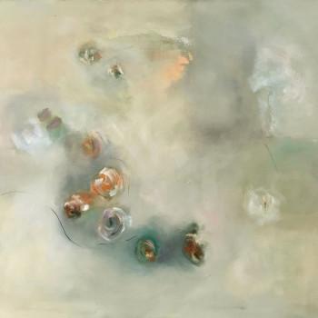 LUCES Y BLANCOS ,Oleo sobre lienzo,100x120 cm  VENDIDO