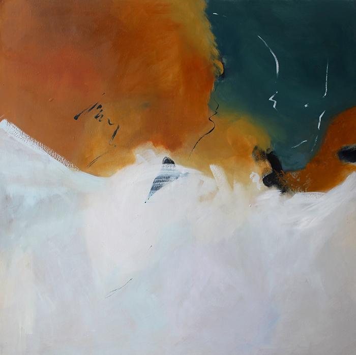 ESPACIO INFINITO,Oleo sobre lienzo,100x100cm / 39.4 x 39.4 inches