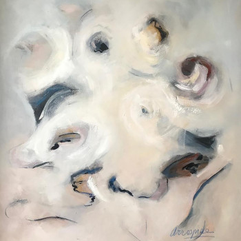 ARMONíA ,Oleo sobre lienzo  120 x100 cm ,47 x 39.1 inches