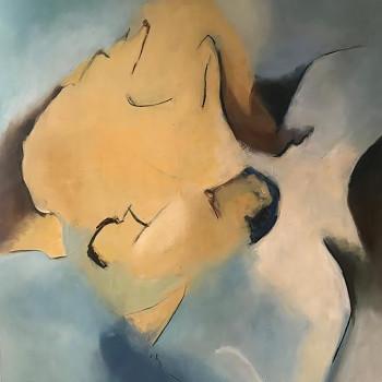 SERENDIPITY Oleo sobre lienzo 150 x120 cm ,59 x47 inches