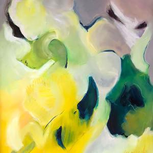 LUMINOSIDAD ,Oleo sobre lienzo 90 x 100 cm ,35 x 39 inches aprox.