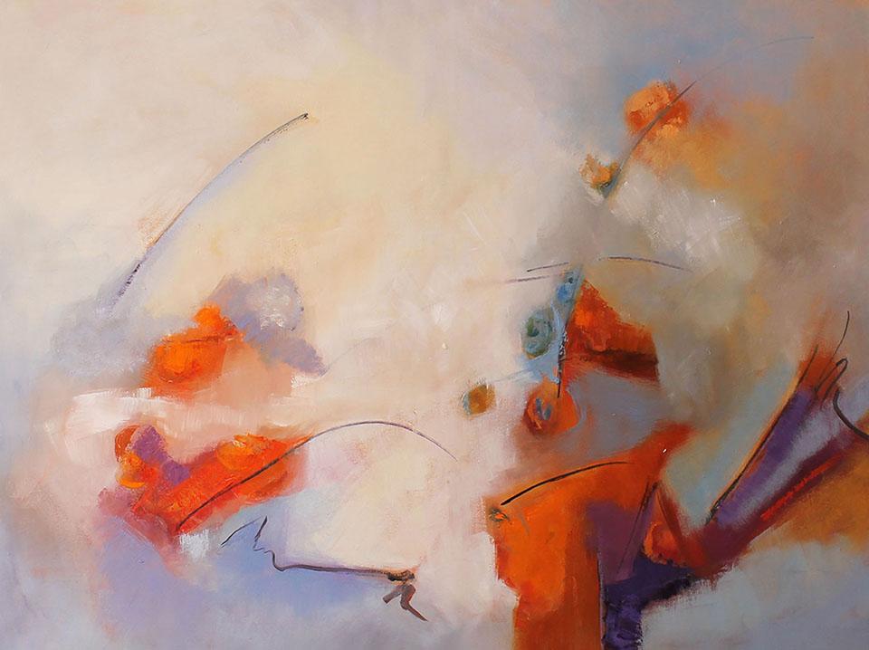 AIRE PRIMAVERAL ,oleo sobre lienzo 37 x 51 in px