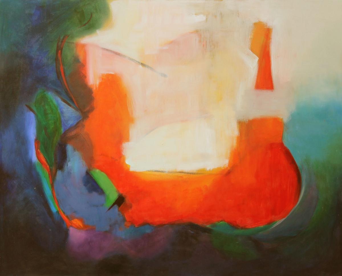 ARCO IRIS Oil on canvas 120 x 150 cm,47 x 59 in