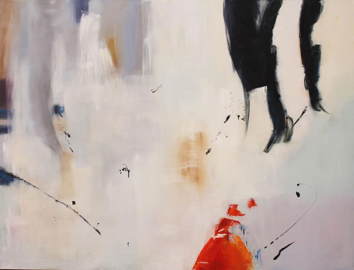 CASUALIDADES oil on canvas, 120 x 150 cms.
